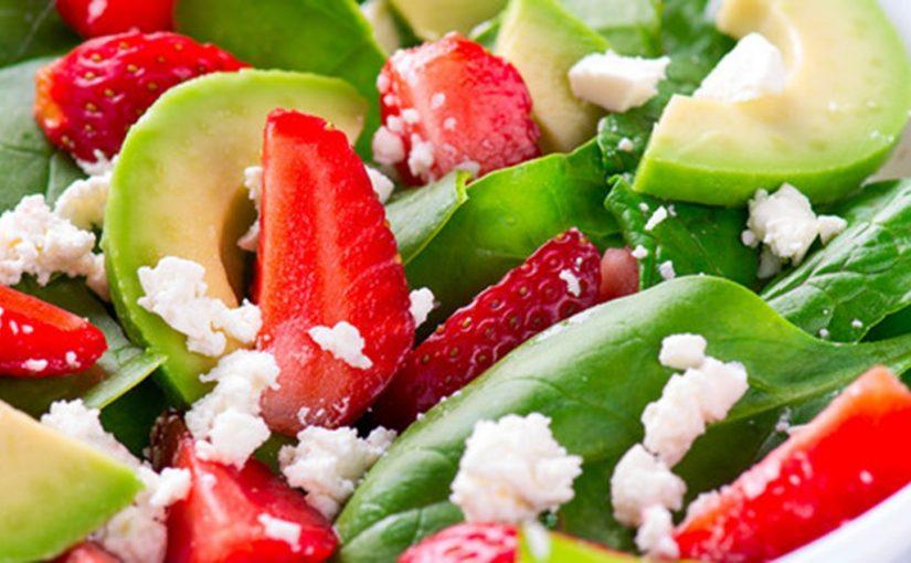 Frischer Sommer Salat